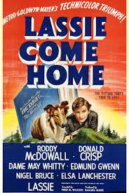 Elsa poster Lassie come home
