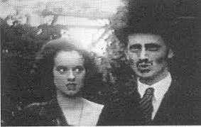 Elsa with Evelyn Waugh in the Scarlet Woman
