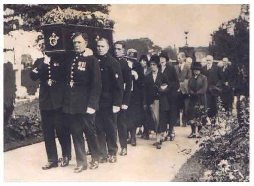 Catherine Gurney funeral police cortege