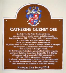Catherine Gurney plaque8